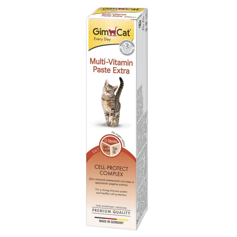 Купить GIMCAT Мультивитаминная паста для кошек Экстра Паст  50 гр GimCat в Калиниграде с доставкой (фото)