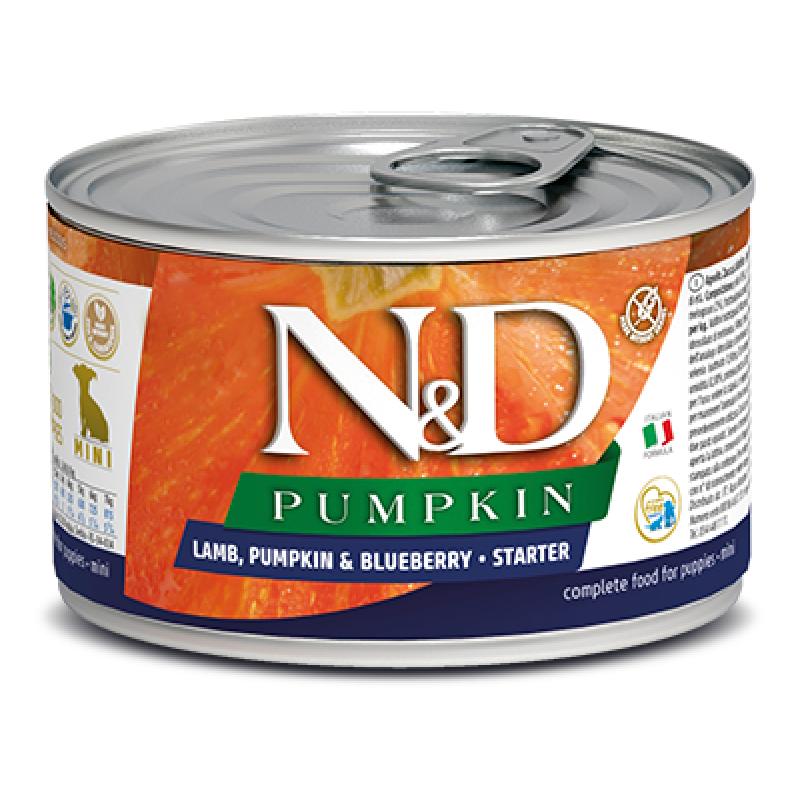 Купить Консервы Farmina N&D Pumpkin Starter для щенков мелких пород с тыквой, ягненком и черникой 140 г Farmina в Калиниграде с доставкой (фото)