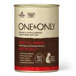 Купить Беззерновые монобелковые консервы ONE&ONLY для взрослых собак всех пород с говядиной в желе 400 гр One&Only в Калиниграде с доставкой (фото)