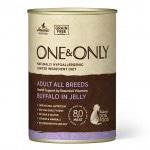 Купить Беззерновые монобелковые консервы ONE&ONLY для взрослых собак всех пород с буйволом в желе 400 гр One&Only в Калиниграде с доставкой (фото)