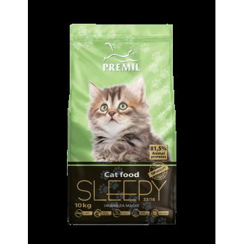 Premil Sleepy для котят, молодых и беременных и кормящих кошек с мясом цыпленка и утки 400 гр