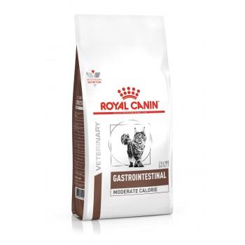 Royal Canin Gastrointestinal Moderate Calorie GIM 35 Feline диета для взрослых кошек, при панкреатите и острых расстройствах пищеварения 400 гр