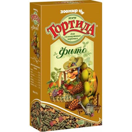 Тортила фито, корм для сухопутных черепах 170 гр