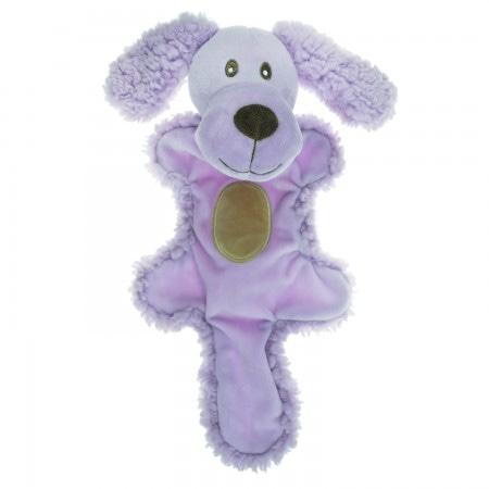 AROMADOG Игрушка для собак Собачка с хвостом 25 см сиреневая