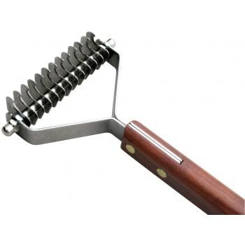 SHOW TECH стриппинг 13 ножей с деревянной ручкой для жесткой шерсти