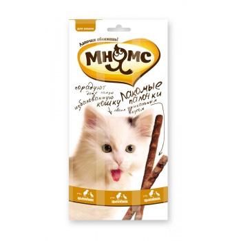 Лакомые палочки для кошек Цыпленок, утка